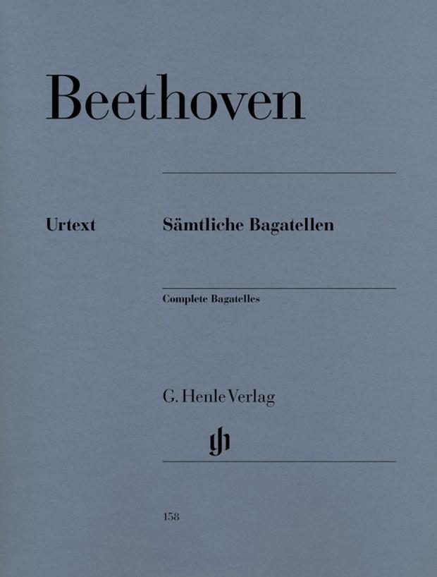 Beethoven - Bagatelles Urtext