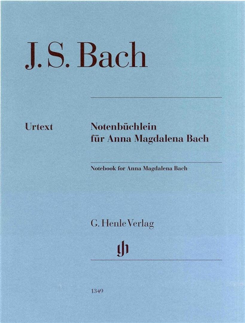 J. S. Bach - Album para Anna Magdalena (Urtext)