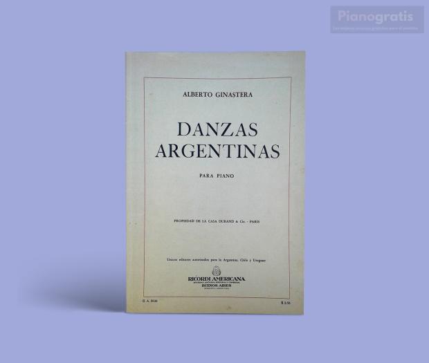 Danzas Argentinas - Ginastera pdf.png