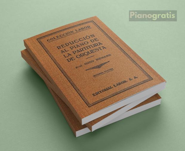 Reducción al piano de la partitura orquestal - hugo Riemann pdf descargar